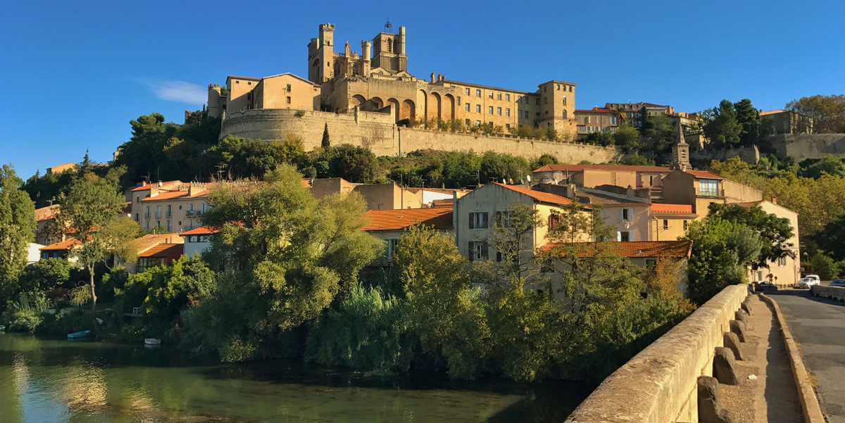 beziers, languedoc roussillon
